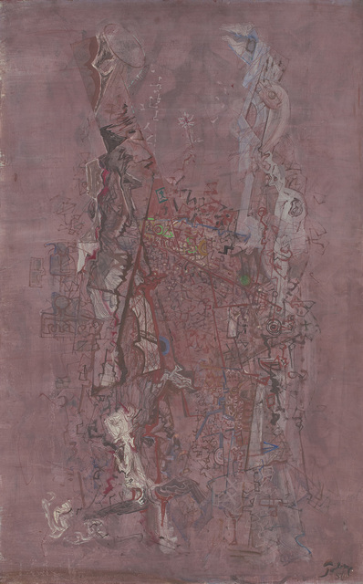 Mark Tobey, 'Desert Town (Wild City)', 1950, Phillips