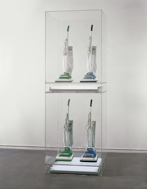 , 'New Hoover Convertibles Green, Blue, New Hoover Convertibles, Green, Blue Doubledecker,' 1981-1987, Whitney Museum of American Art