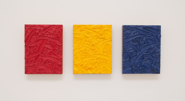 , 'Red/Yellow/Blue Ratio Triptych #2,' 2010, Roberts Projects
