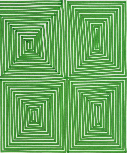 , 'Green Coffer (Geo),' 2014, Newzones
