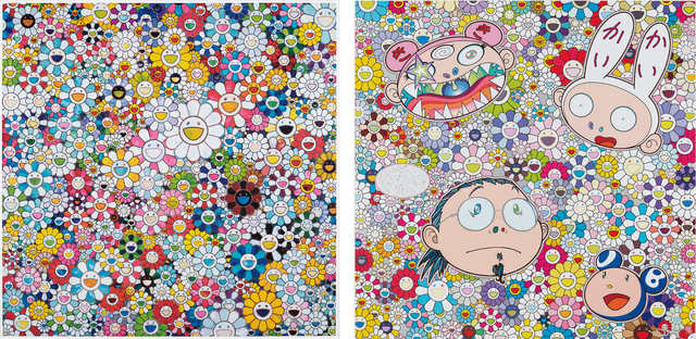 Takashi Murakami, 'When I Close My Eyes I See Shangri-la; and The Creative Mind', 2012 and 2015, Phillips