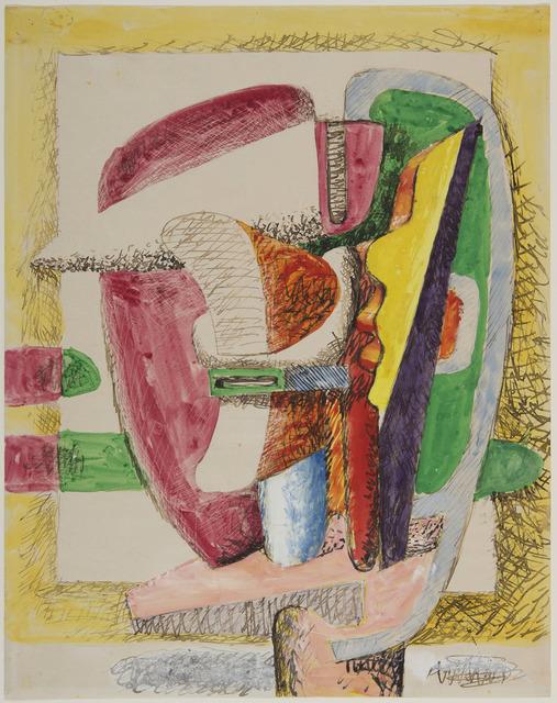 Le Corbusier, 'Composition. Etude pour une sculpture', 1941, HELENE BAILLY GALLERY