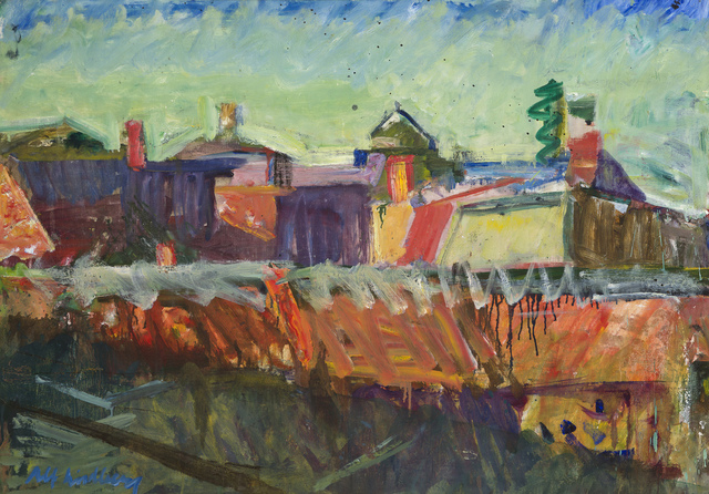 , 'Över taken (Over the rooftops),' 1982, CFHILL
