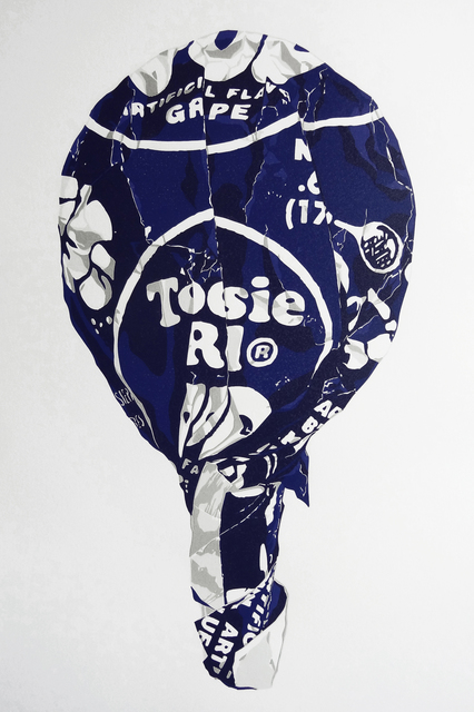 , 'Tootsie on a Stick (Large Grape) ,' 2015, Hespe Gallery