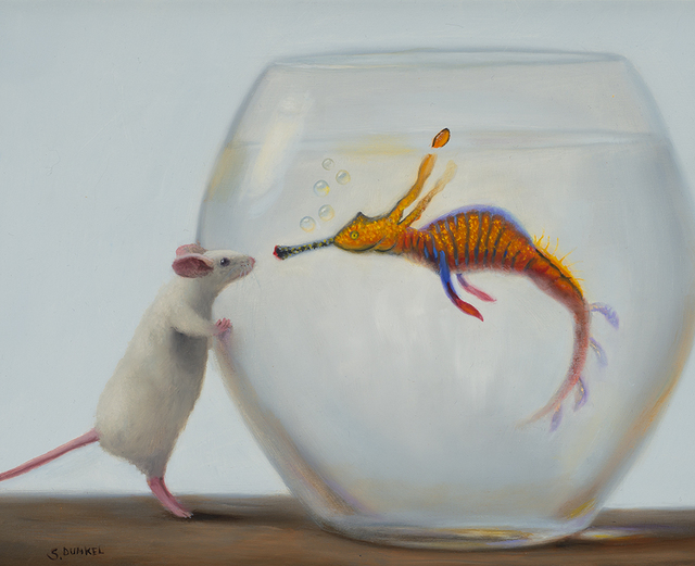 , 'Dragonfish and Visitor,' , Rehs Contemporary Galleries