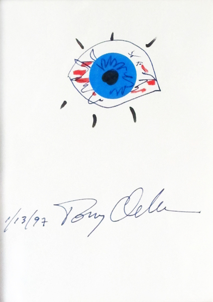 Tony Oursler, 'Untitled', 1997, Drawing, Collage or other Work on Paper, Collage & Marker on paper, Hamilton-Selway Fine Art