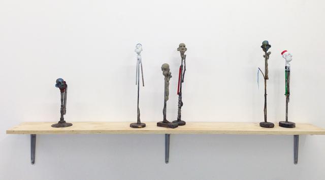 , 'Totem III, IV, V, VI, VII,' 2016, Galerie Bart