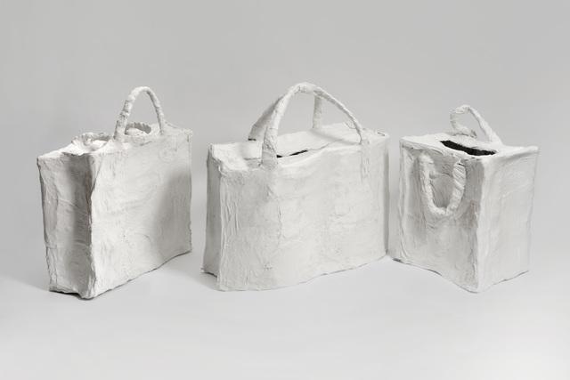 , 'Untitled (Laundry Bags),' 2016, Cob