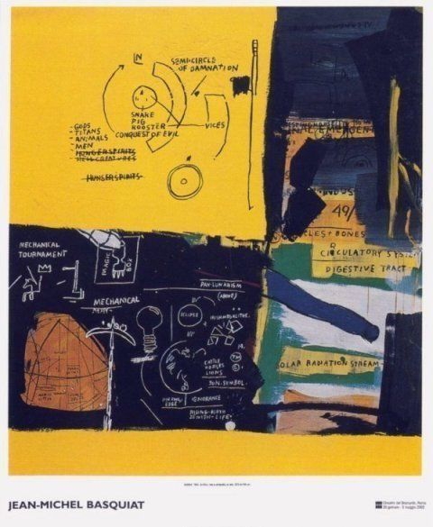 Jean-Michel Basquiat, 'Untitled (1984) exhibition poster', 2002, MSP Modern