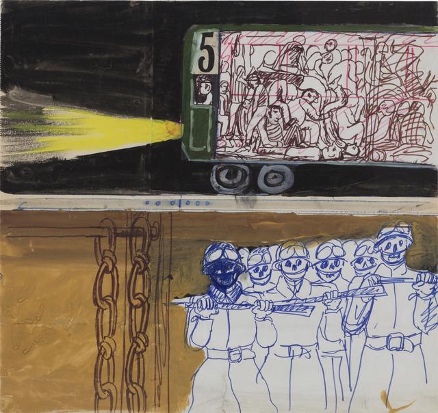 """, 'Sin título. De la serie """"México 68.,' ca. 1968, Cosmocosa"""