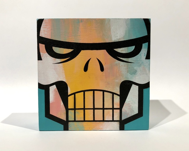 matt siren, 'Transformer Mask #9', 2018, Woodward Gallery
