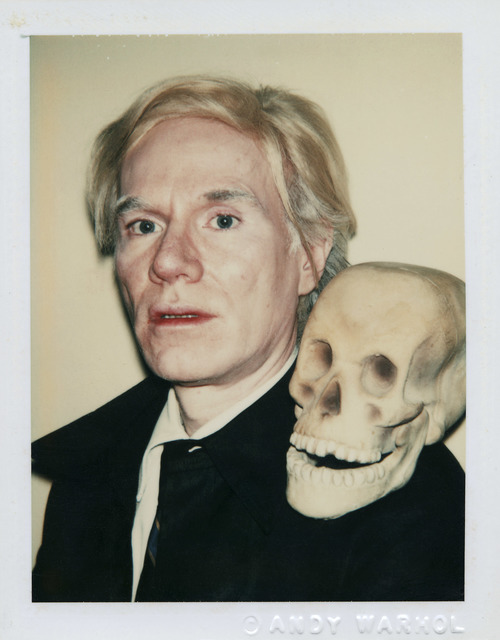 , 'Self-Portrait with Skull,' 1977, National Gallery of Victoria