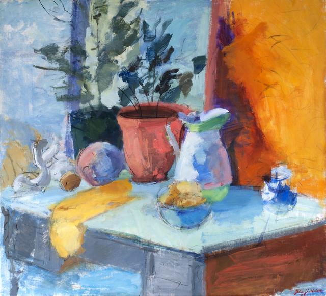 , 'Yellow Still Life,' 2018, Valley House Gallery & Sculpture Garden