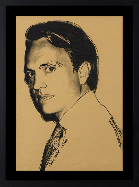 , 'Carter Burden (Brown),' 1977, Heather James Fine Art