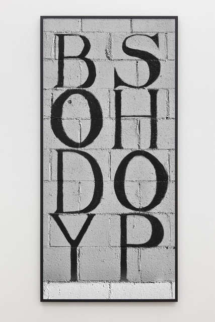 Shannon Ebner, 'The Body Shop', 2014, Sadie Coles HQ