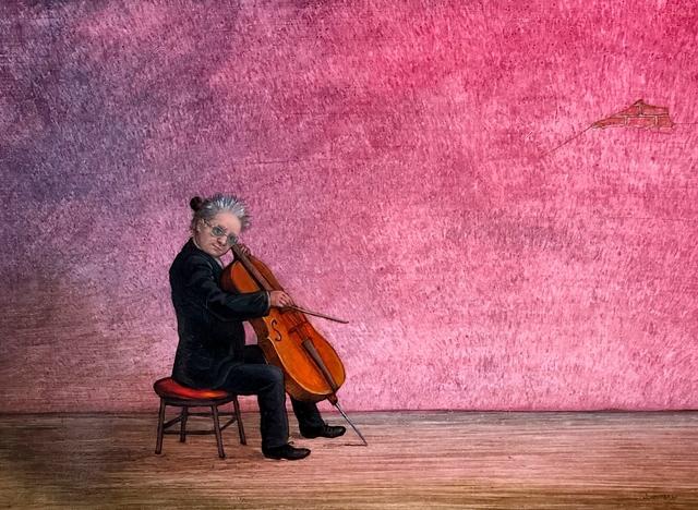 Jennifer Li, 'Cello Solo', Underscore Art