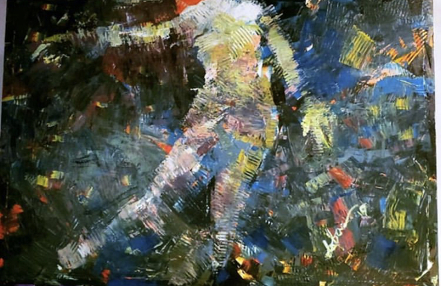 Doba Afolabi, 'Kinky Mirage', 2019, Painting, Acrylic on canvas, Zenith Gallery