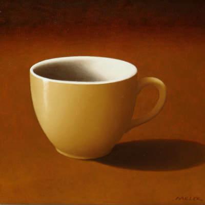 Peter Miller, 'Crown Lynn Cup', 2017, Painting, Oil on Canvas, Black Door Gallery