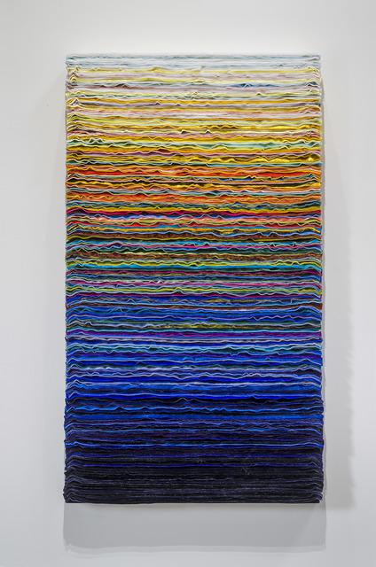 , 'Velvet Painting: Faking Day Breaking,' 2016, DENK Gallery
