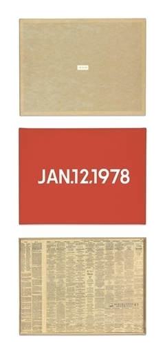 On Kawara, 'JAN. 12, 1978', Christie's