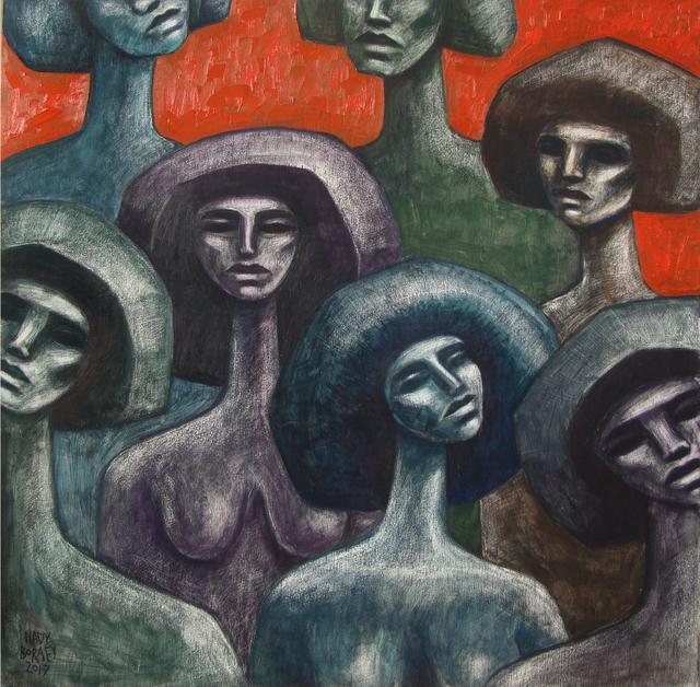 , 'The Immigrants,' 2018, Janet Rady Fine Art