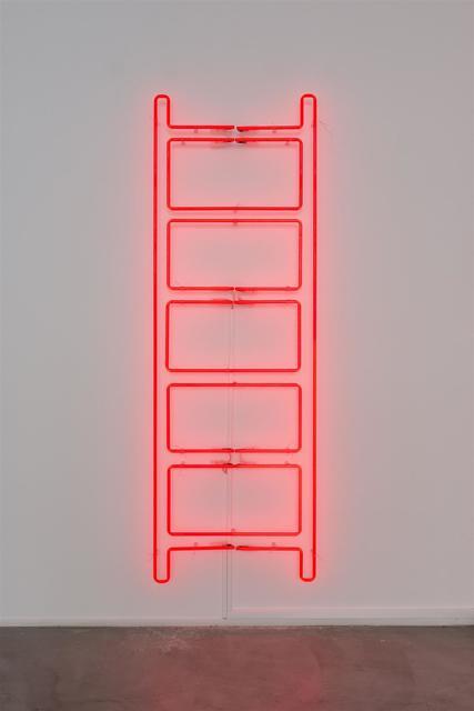 , 'Emergency Ladder,' 2018, Templon