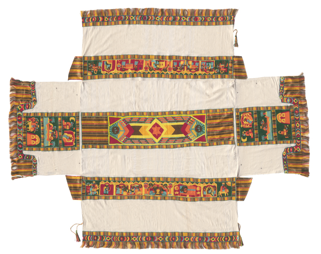 , 'Ethiopian Curtain of the Ark,' 2012, Meislin Projects