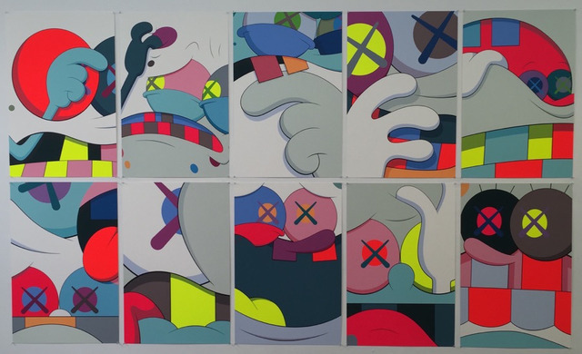 KAWS, 'Blame Game (portfolio of ten prints)', 2014, Lush Art Agency