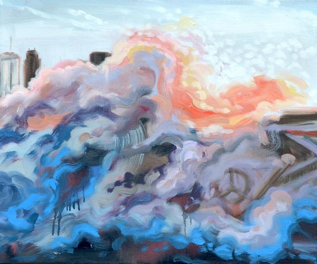 , 'Implosion,' 2018, Brickworks Gallery