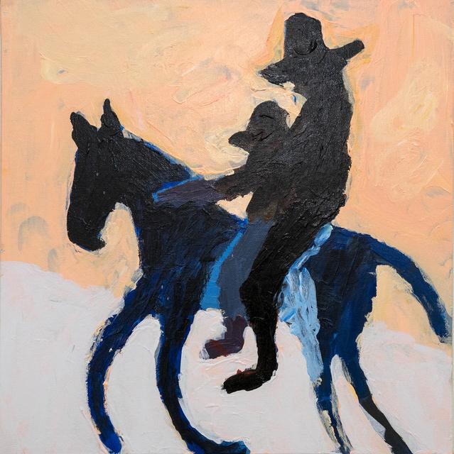 Mie Olise Kjærgaard, 'Woman and Boy on Horse', 2019, Hans Alf Gallery