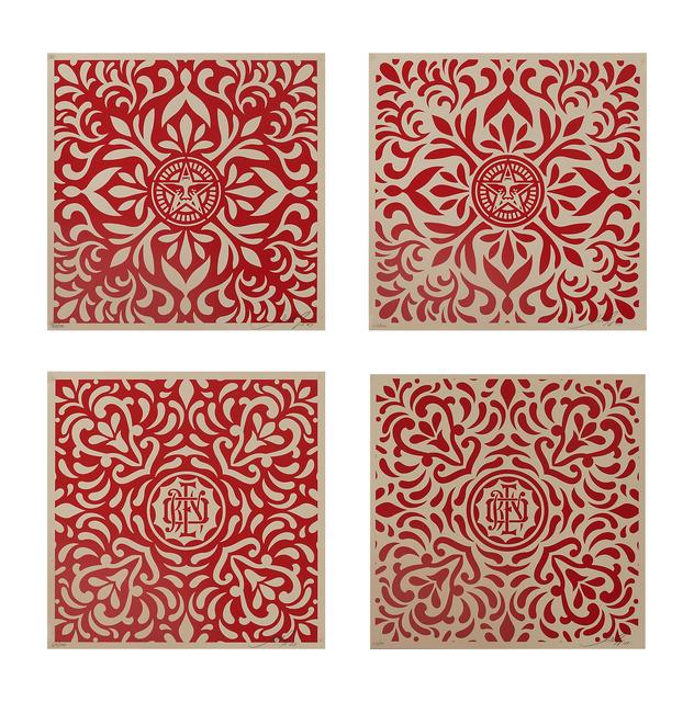Shepard Fairey, 'Japanese Fabric Pattern', 2009, Rago/Wright