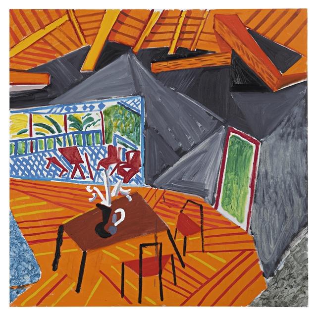 David Hockney, 'California Interior', 1985-1986, Sotheby's