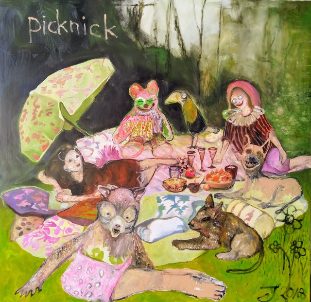 , 'Picknick,' 2018, Urbane Art Gallery