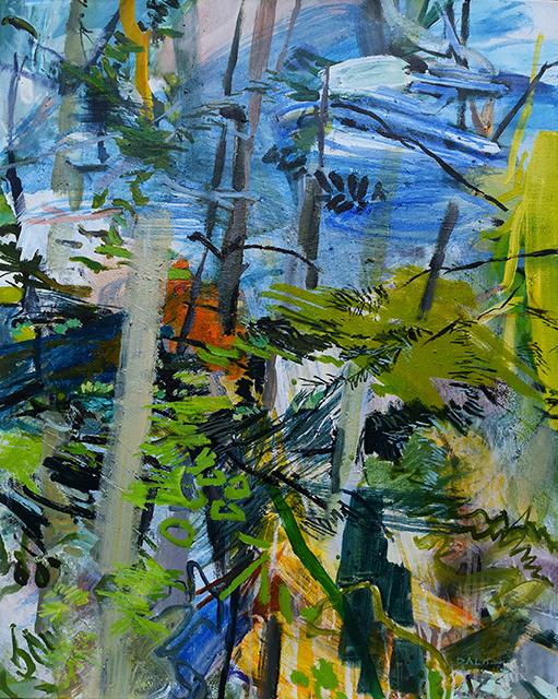 Marie-Jo Daloz, 'Heures matinales ', 2018, Galerie Estampe