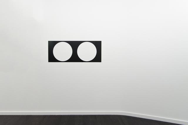 Douglas Allsop, 'Reflective Editor: Two Round Holes, Square Pitch', 2013, Bartha Contemporary