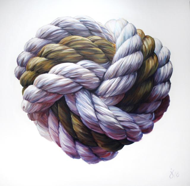 , 'Love Knot,' 2018, Gallery at Zhou B Art Center