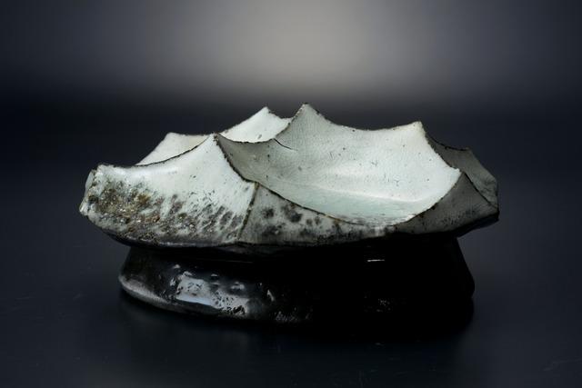 , '粉引青白釉墨染オブジェ,' 2013, Tomio Koyama Gallery
