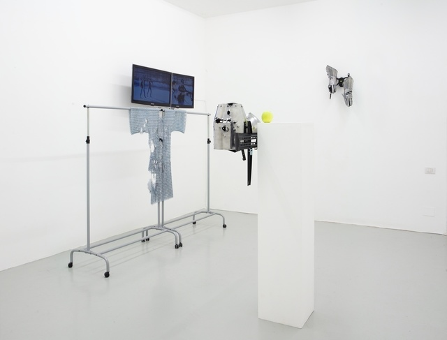 Timur Si-Qin, 'Installation view, Fluxia Gallery, Milan,' 2011, Gallery Weekend Berlin