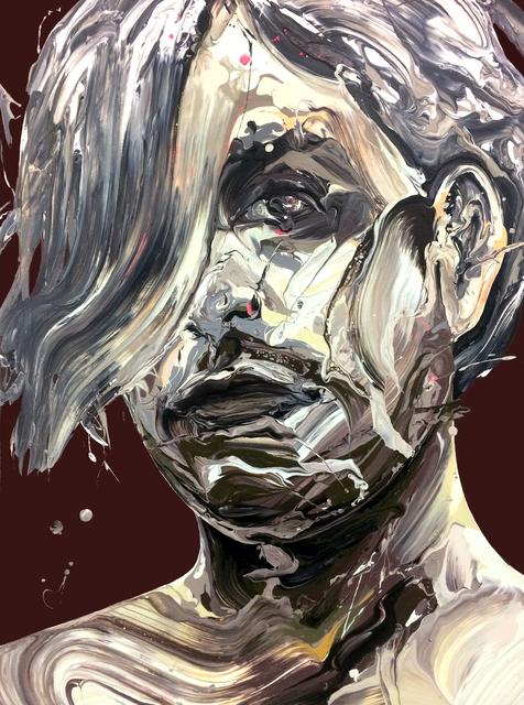 , 'Transcription 60 (He),' 2018, Joseph Nease Gallery