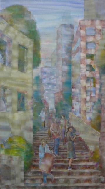 , 'Stairs,' 2019, Galerie Kleindienst
