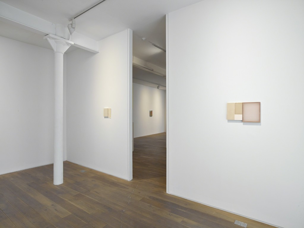 Installation view of  the group exhibition 'ABJAD',
