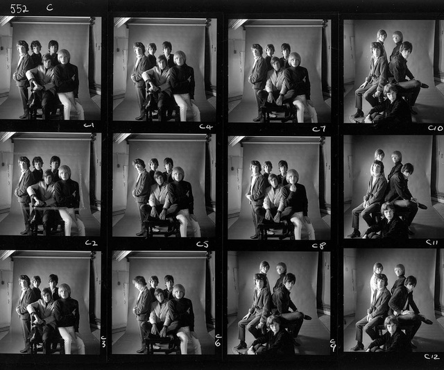 , 'The Rolling Stones, 1965 - Mason's Yard Contact Sheet,' 1965, TASCHEN