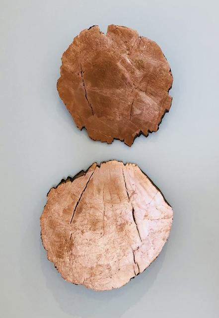 , 'Titled Discs,' 2018, Goodwin Fine Art