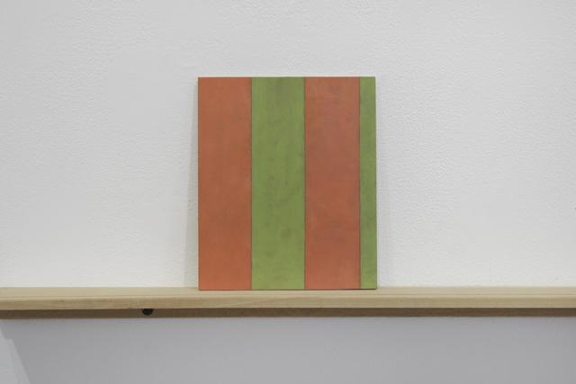 ", 'Sherrie Levine's ""Broad Stripe: 10"",' 2018, Josée Bienvenu"
