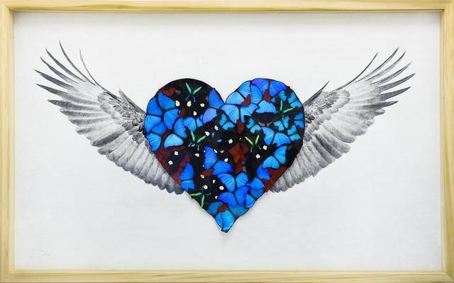 SN, 'Heart with Wings True Love ', 2019, Eden Fine Art