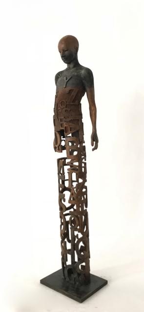 Jesús Curiá, 'Literatum', 2018, Sculpture, Bronce, Anquins Galeria