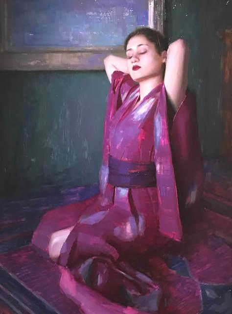 , 'In Her Kimono ,' 2017-2019, Vanessa Rothe Fine Art