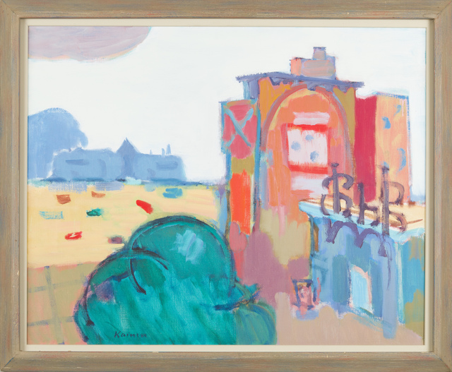 Jacob Kainen, 'U Street Capriccio', 1967, Painting, Oil on canvas, Childs Gallery