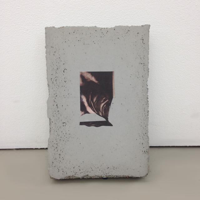 , 'NYT Thursday July 3 2014 (Concrete),' 2014, Galerie Eva Presenhuber