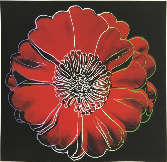 Andy Warhol, 'Flower for Tacoma Dome', ca. 1982, Hamilton-Selway Fine Art